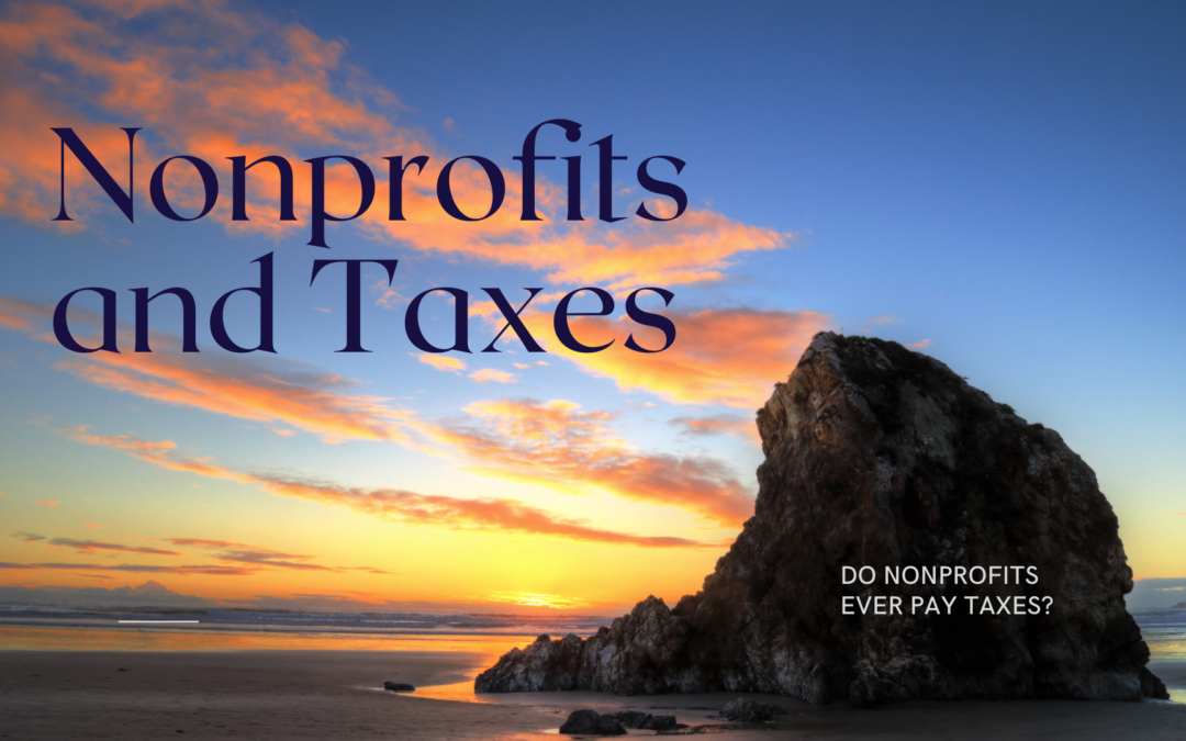 Do Nonprofits Ever Pay Taxes?