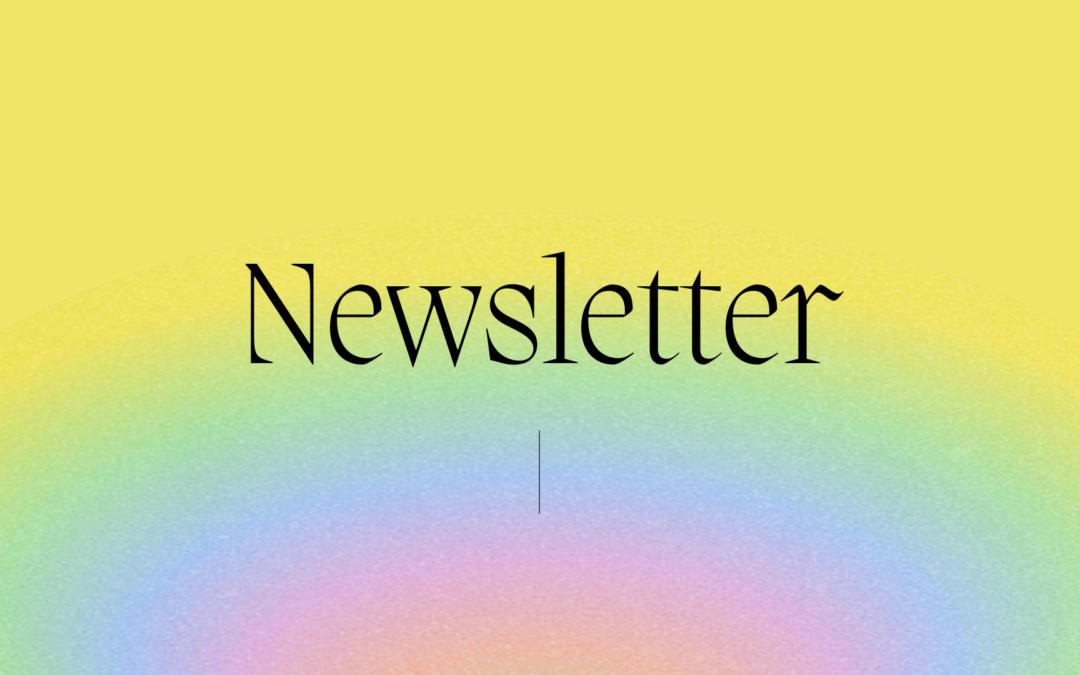 Newsletter August 18, 2021