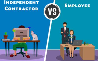 Independent contractor vs employee?
